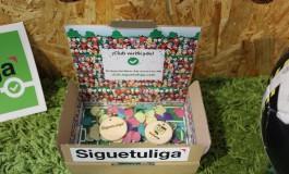Consigue tu llavero personalizado de Siguetuliga