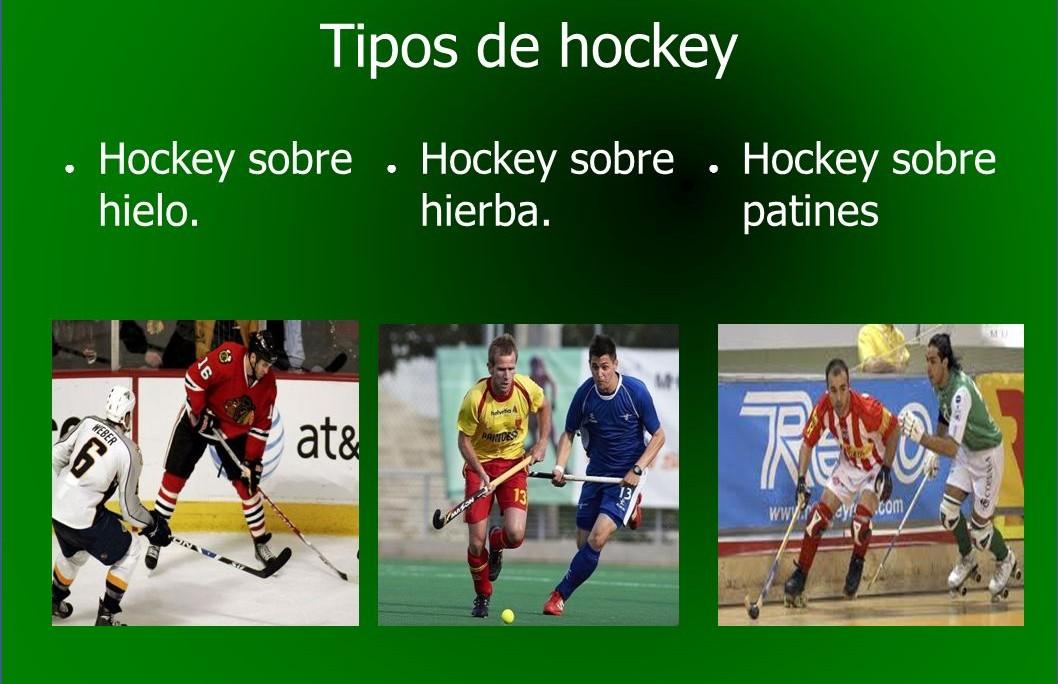Los Tres Diferentes Tipos De Hockey Artículos Siguetuliga