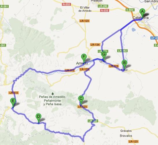 16ª salida de la Sociedad Ciclista de Calahorra