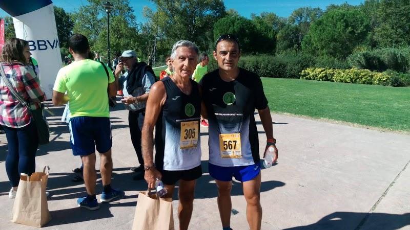 Juantxo y José Antonio en la Carrera por la Salud Mental